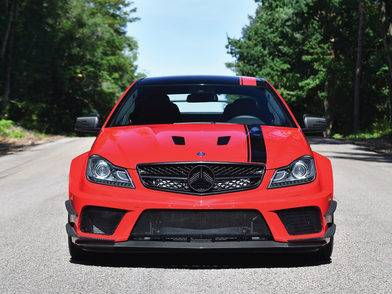 Low Mileage 2013 Mercedes-Benz C63 AMG Black Series For ...