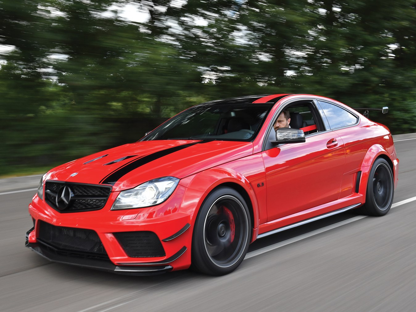 Low mileage 2013 mercedes benz c63 amg black series for for Mercedes benz c63 amg black series for sale