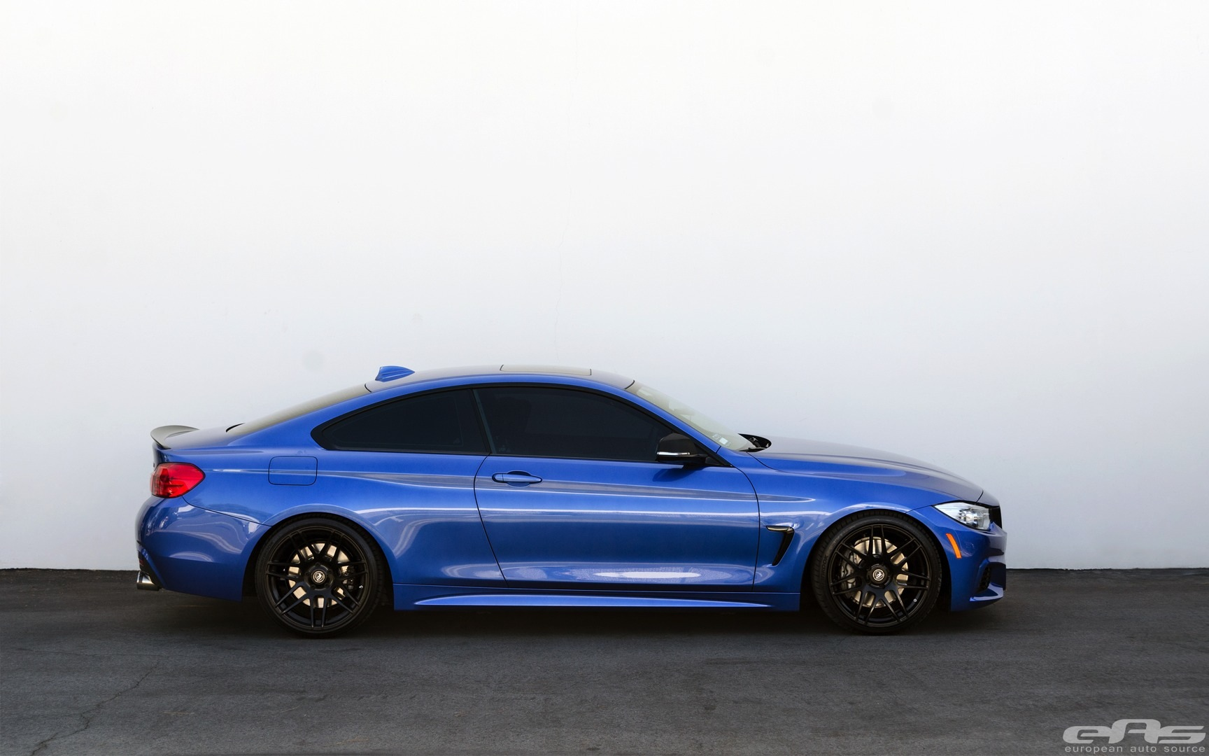 Lowered Estoril Blue Bmw 435i Is Just Right Autoevolution