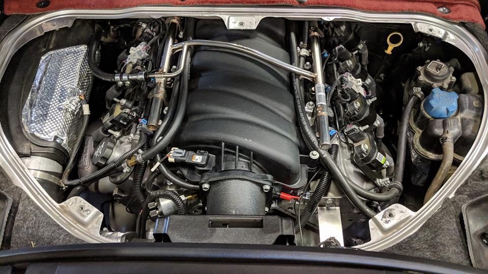 Porsche boxster engine swap