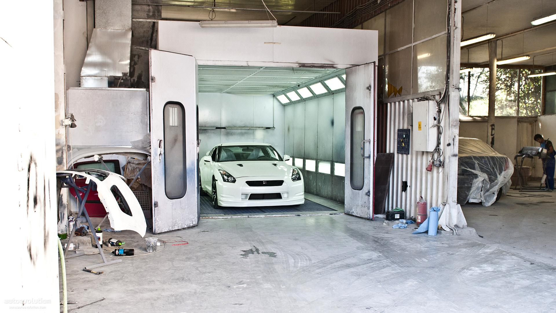 Painted Garage Walls Ideas