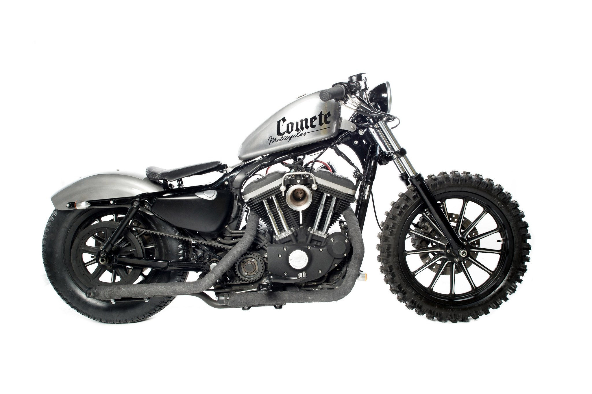 Lumberjack Sportster A Harley Scrambler From Comete Motocycles Autoevolution