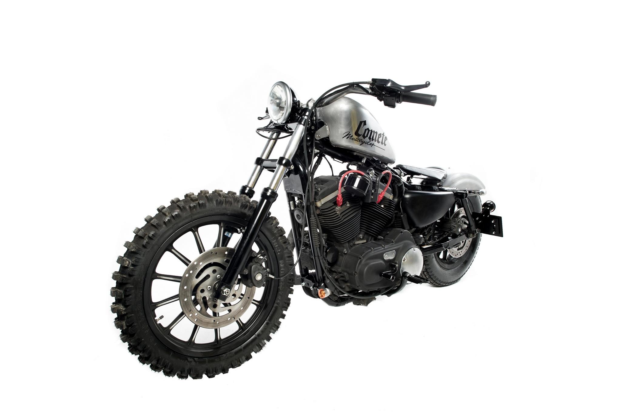 Lumberjack Sportster A Harley Scrambler From Comete Motocycles Photo Gallery on Sportster Dirt