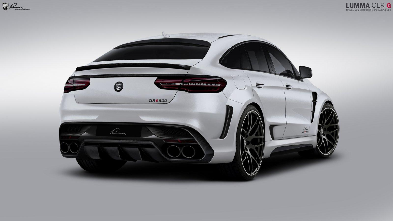 Lumma Clr G 800 Is The Lairiest Looking Gle63 Coupe