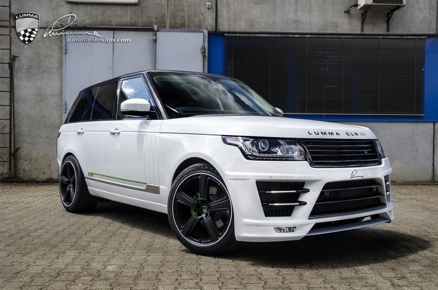 Lumma Design CLR SR Tuning Package for Range Rover ...