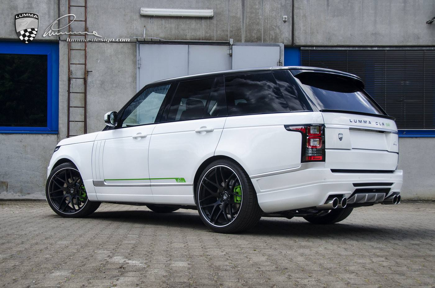 66 Auto Sales >> Lumma Design CLR SR Tuning Package for Range Rover Unveiled - autoevolution