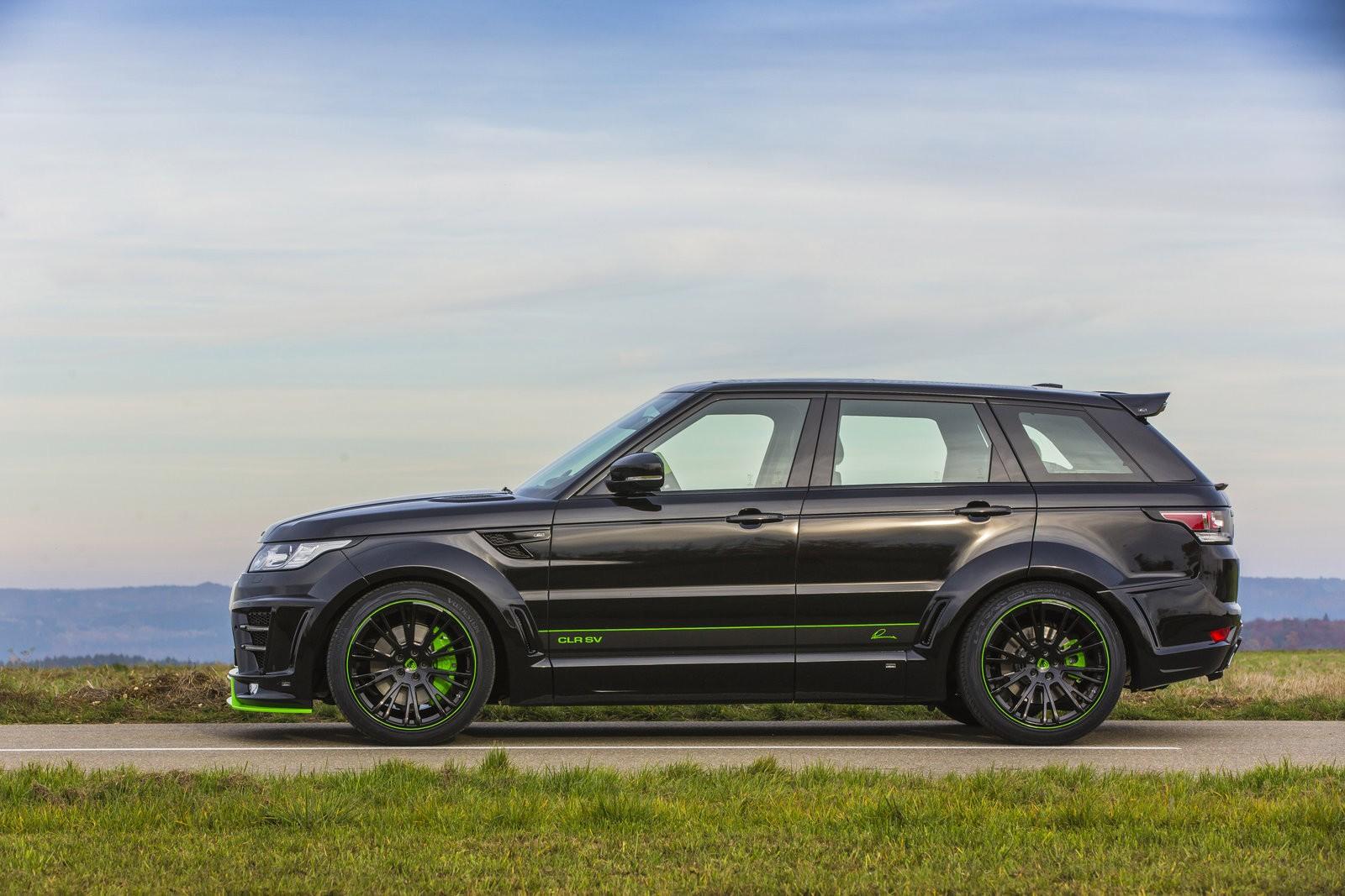 Lumma Design Clr Sv Body Kit For The Range Rover Sport