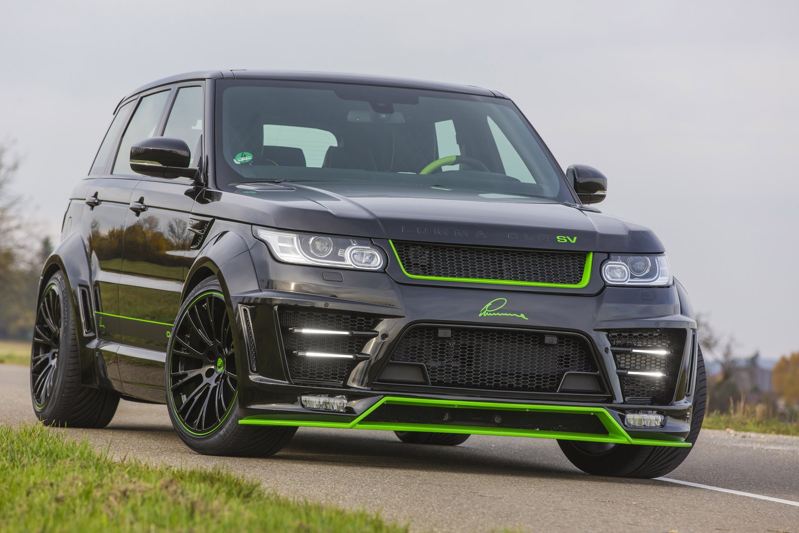 Lumma Design Clr Sv Body Kit For The Range Rover Sport