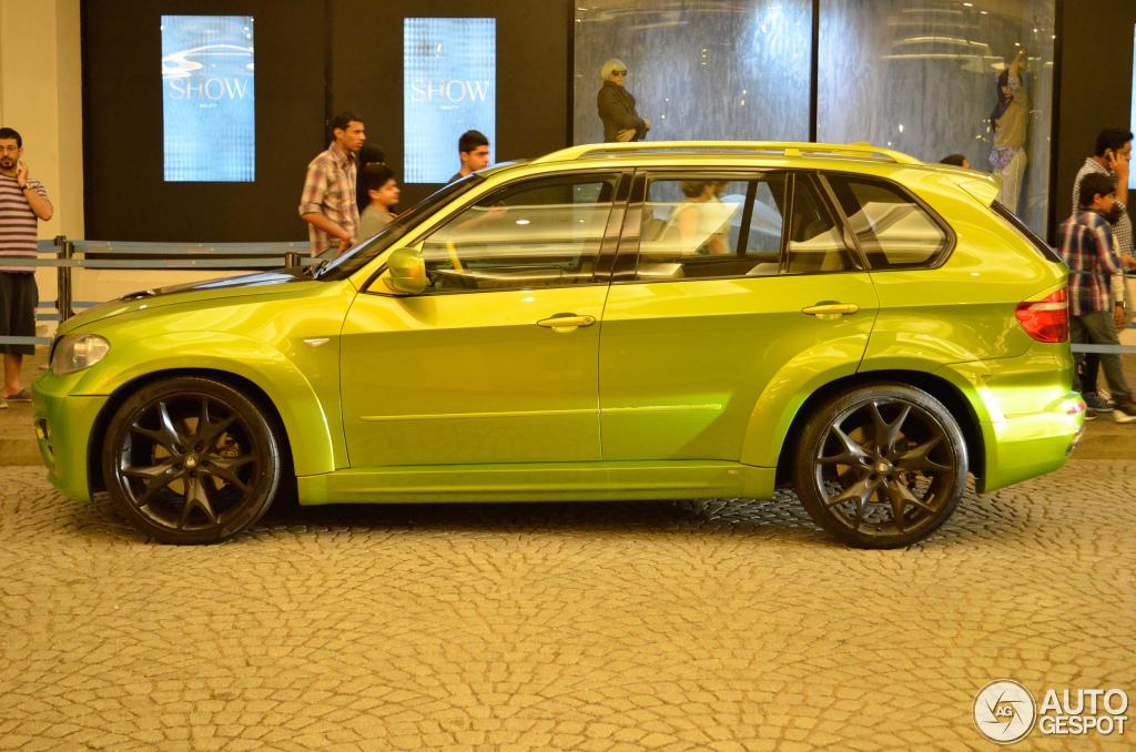 Lumma Design Clr X 530 Bmw X5 Shines Green In Dubai
