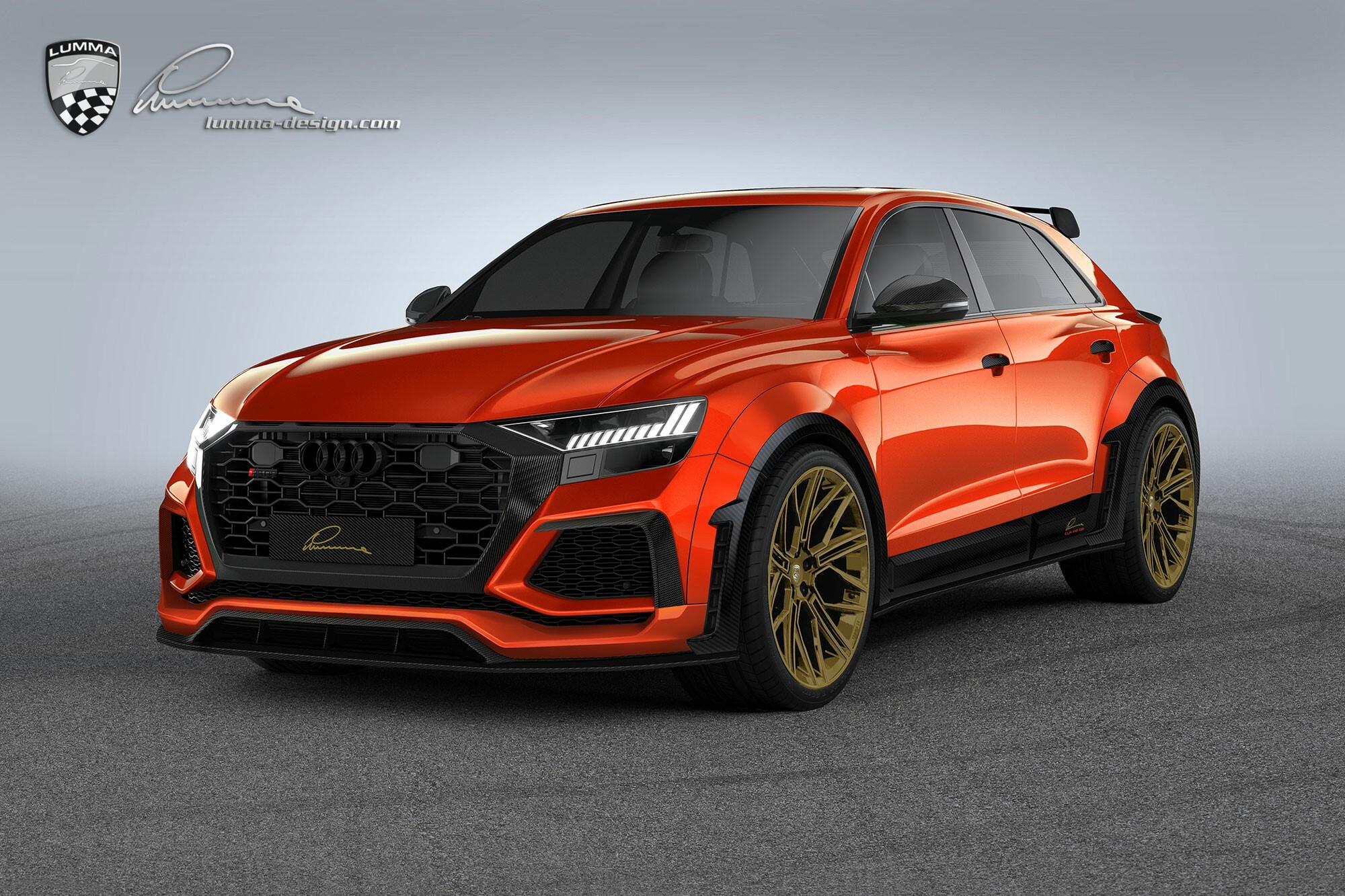 Lumma Design Turns Audi Rsq8 Into Oversized Ultimate Hot Hatch Autoevolution