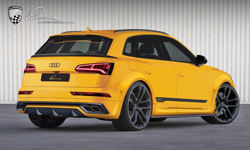 Lumma Tuned Audi Sq5 Is A Yellow Widebody Suv Called Clr