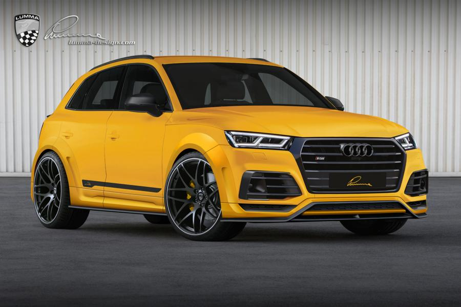lumma tuned audi sq5 is a yellow widebody suv called clr. Black Bedroom Furniture Sets. Home Design Ideas