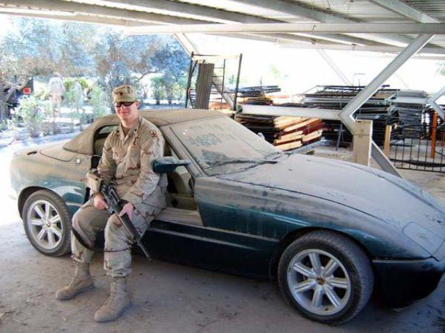 Luxury Cars Belonging To Saddam Hussein S Son Autoevolution