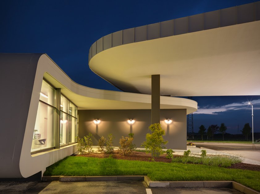 Luxury Gas Station Designed In Italy Autoevolution