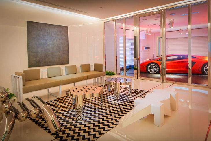 it might sound like some sort of complicated system but actually its not in fact the real reason the strange garages exist is rather an issue of - Inside Luxury Apartments