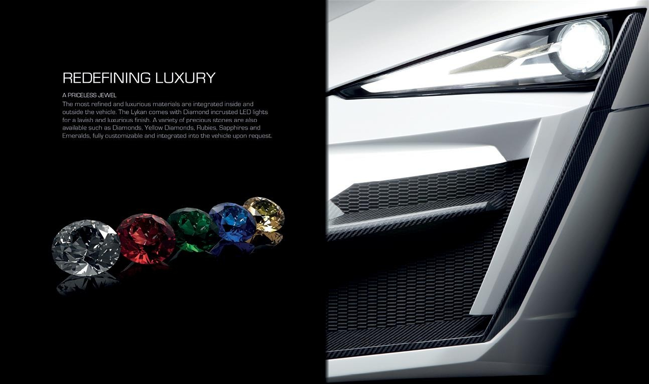 Lykan Hypersport Details Revealed In Brochure Autoevolution