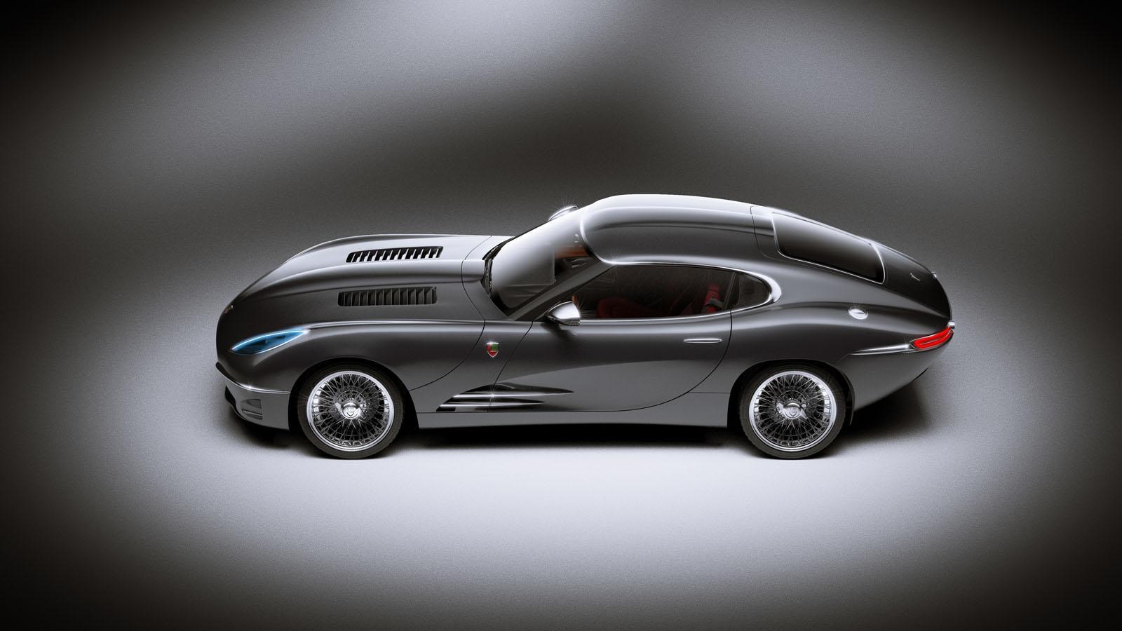 Lyonheart K Is a Modern Jaguar E-Type - autoevolution