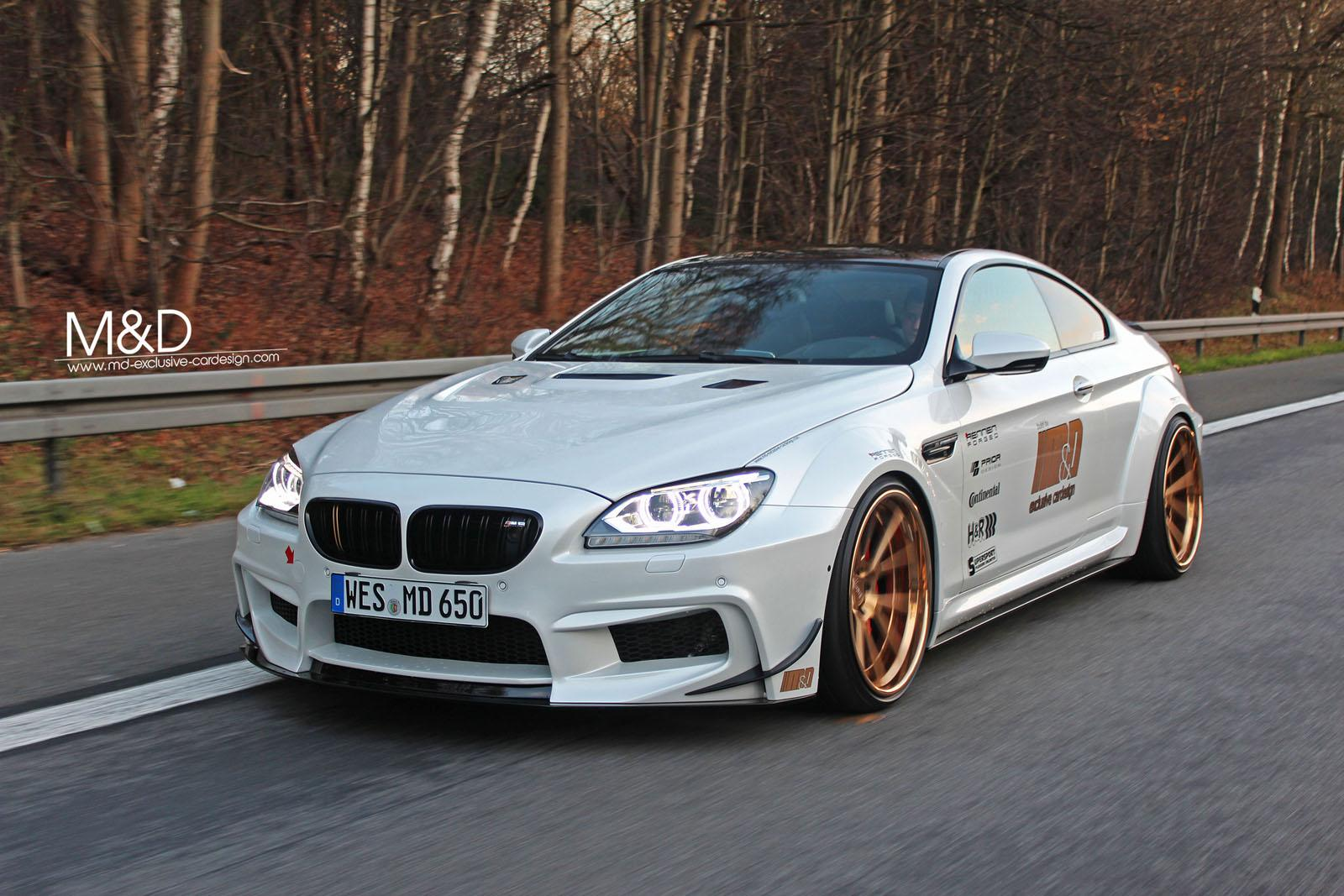 Bmw Car M D Tuning Takes 650i Coupe To 510 Hp A Mini M6 Photo Gallery