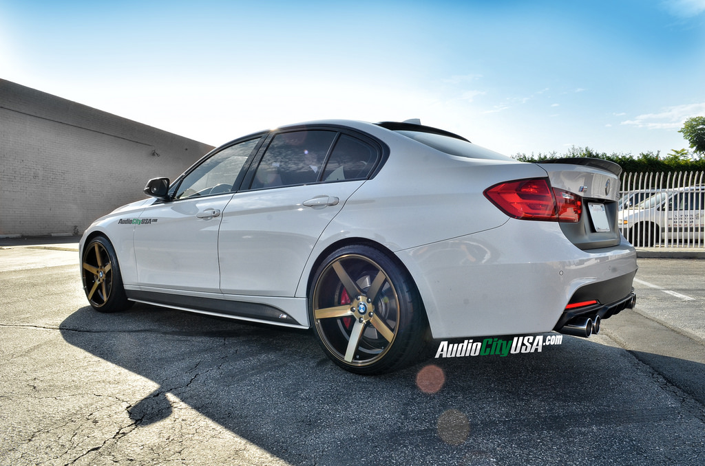 M Sport 335i Looks Titanium Cool On Str Wheels