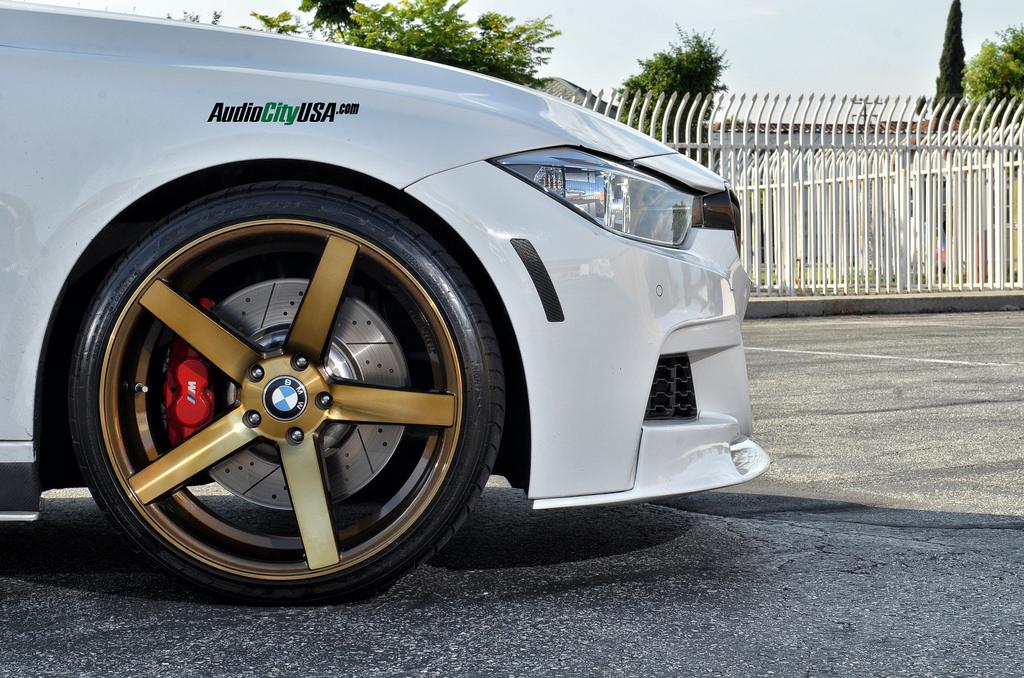 M Sport 335i Looks Titanium Cool On Str Wheels Autoevolution