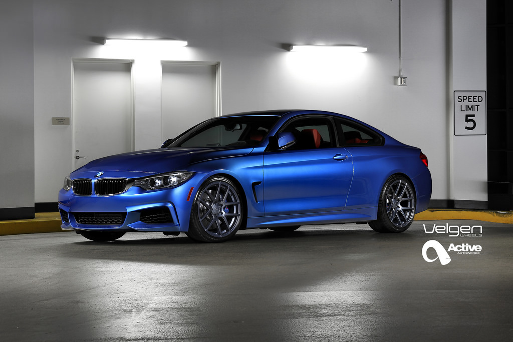 M Sport Bmw 435i Is Looking Sharp On Velgen Wheels
