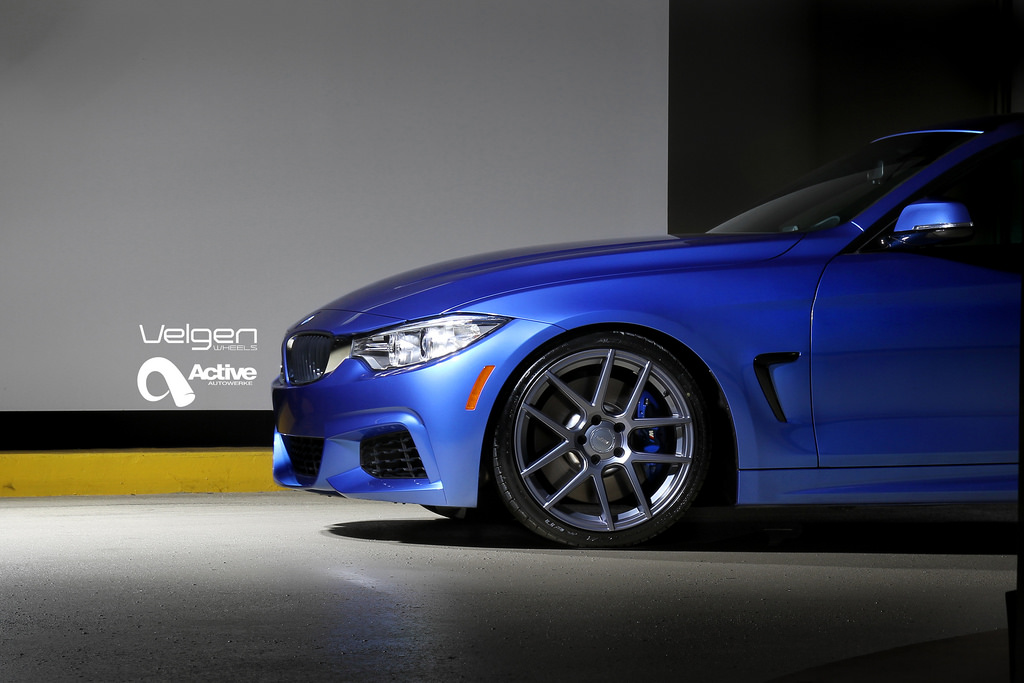 M Sport Bmw 435i Is Looking Sharp On Velgen Wheels Autoevolution