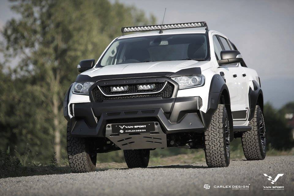 2016 Ford Ranger Gets Meaner Thanks to M-Sport - autoevolution