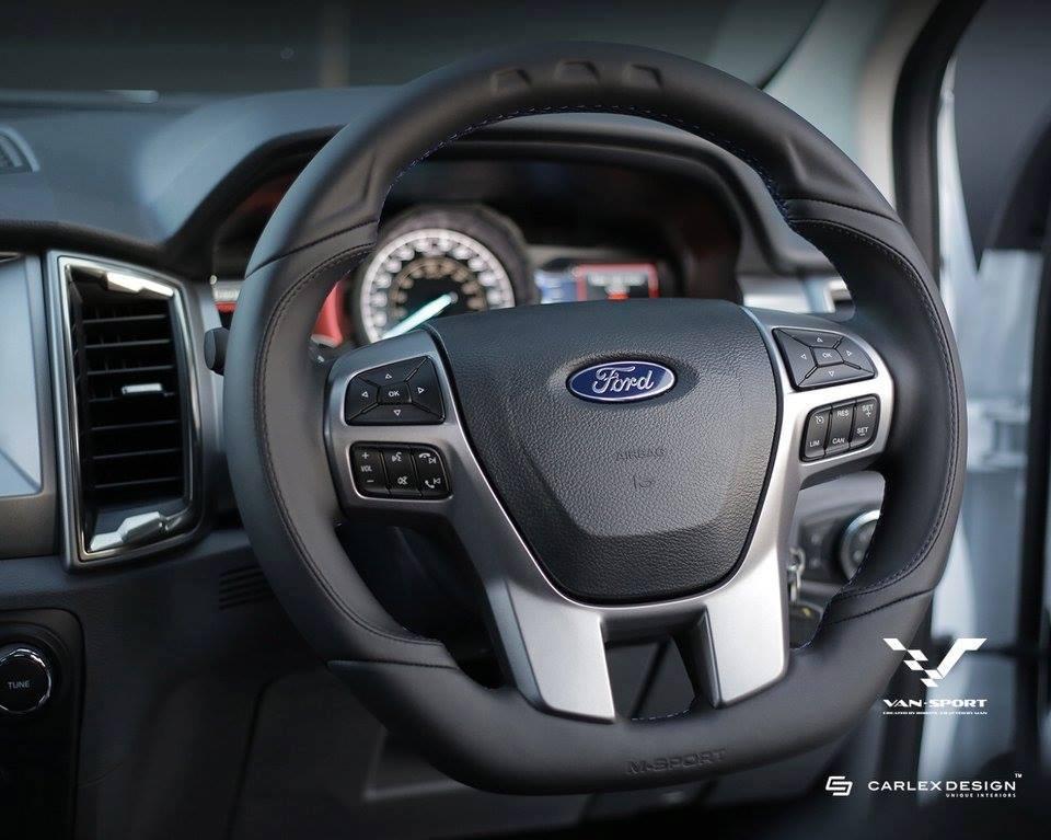 2016 Ford Ranger Gets Meaner Thanks to M-Sport - autoevolution