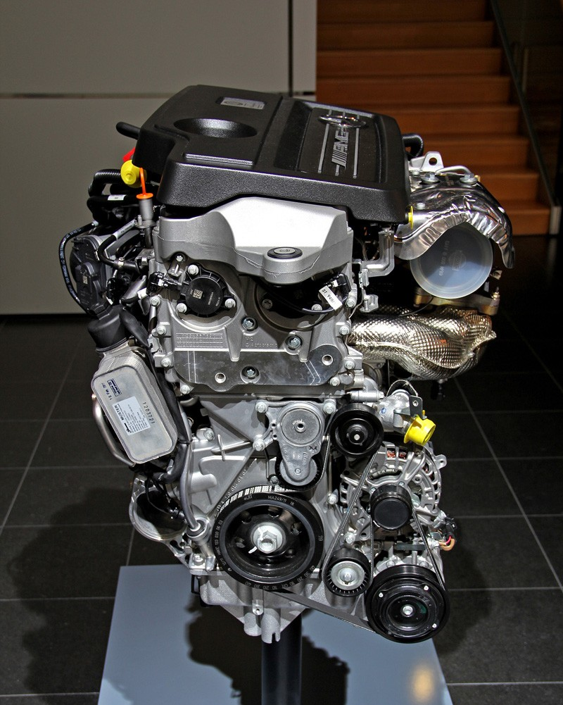 M133 The First Four Cylinder Turbo Mercedes Amg Engine