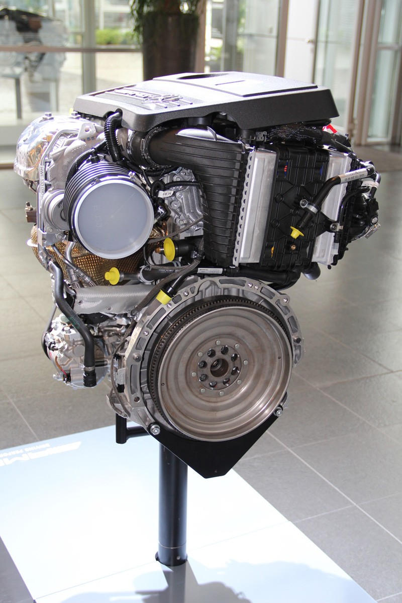 M The First Four Cylinder Turbo Mercedes Amg Engine Explained