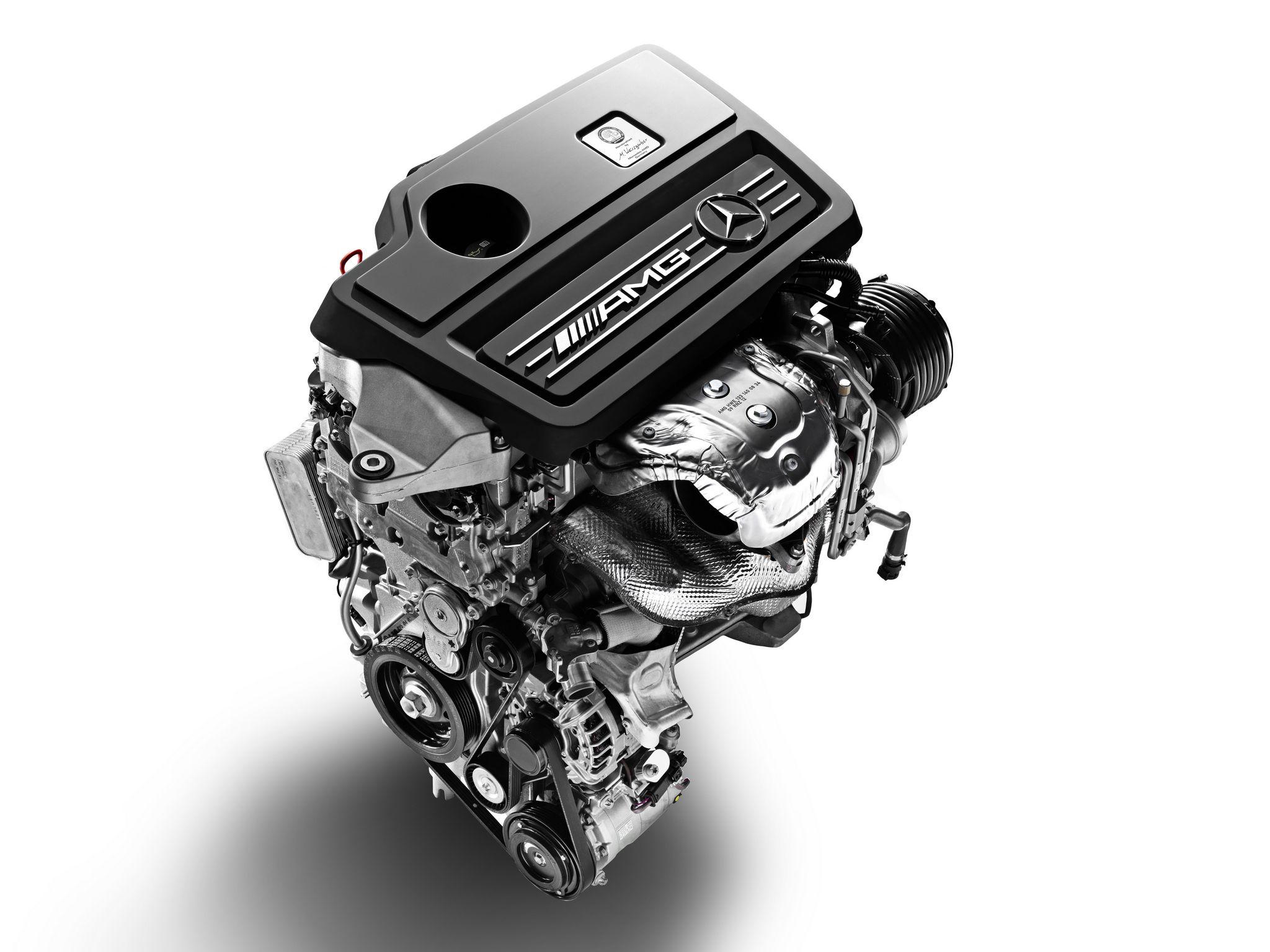 m133 the first four cylinder turbo mercedes amg engine. Black Bedroom Furniture Sets. Home Design Ideas