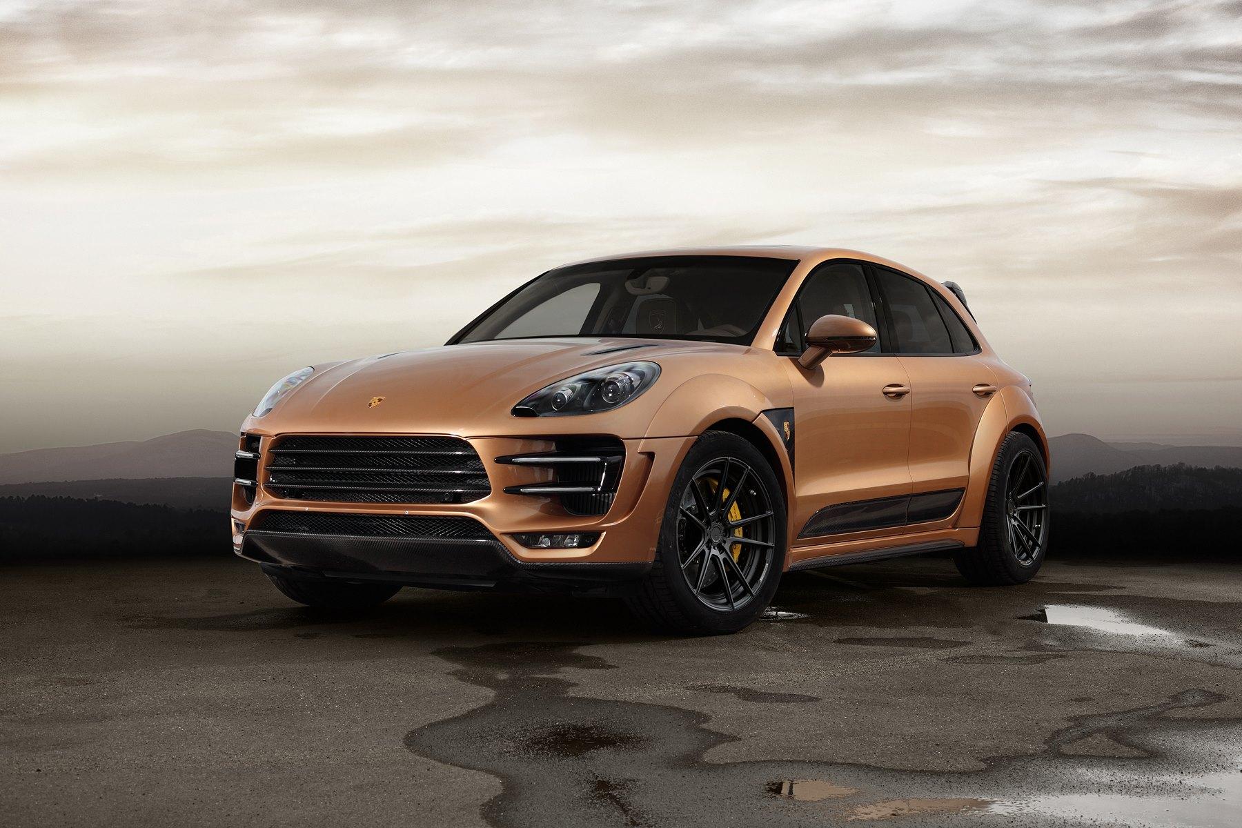 Porsche Macan Interior >> Macan URSA by Topcar Has Gold-Colored Carbon Fiber and ...