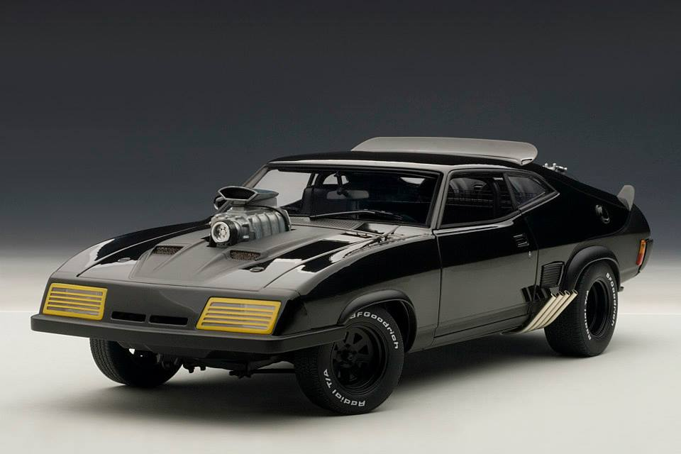 Mad Max The Road Warrior Interceptor Scale Model