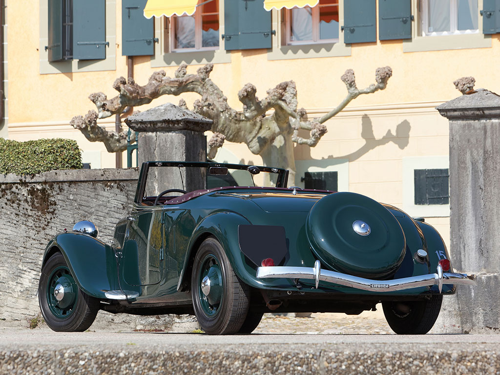 madame michelin u2019s 1939 citroen 15 cv roadster is up for