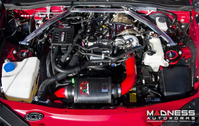 Madness Autoworks Fiat 124 Spider Abarth Demo Car