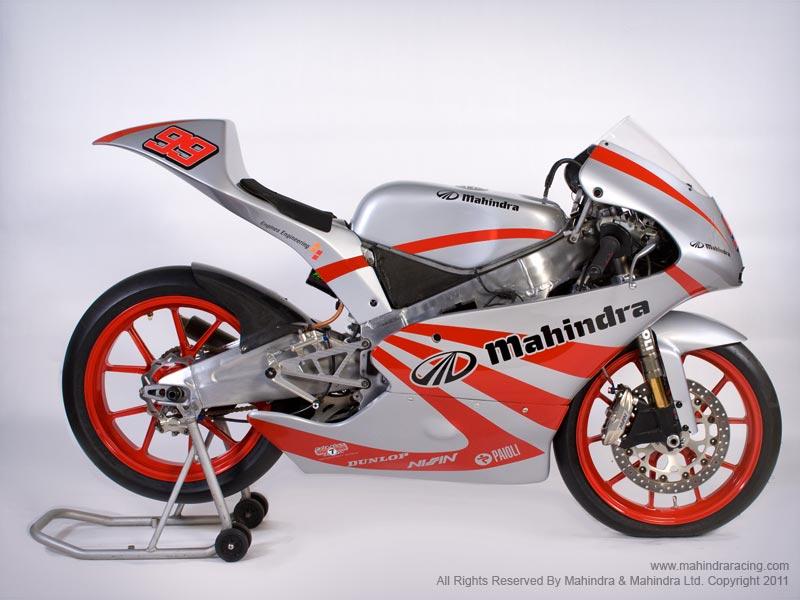 Mahindra GP125 Race Bike Unveiled - autoevolution