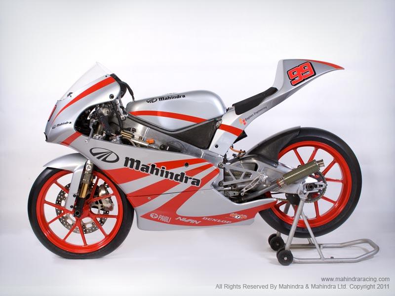Mahindra Gp125 Race Bike Unveiled Autoevolution