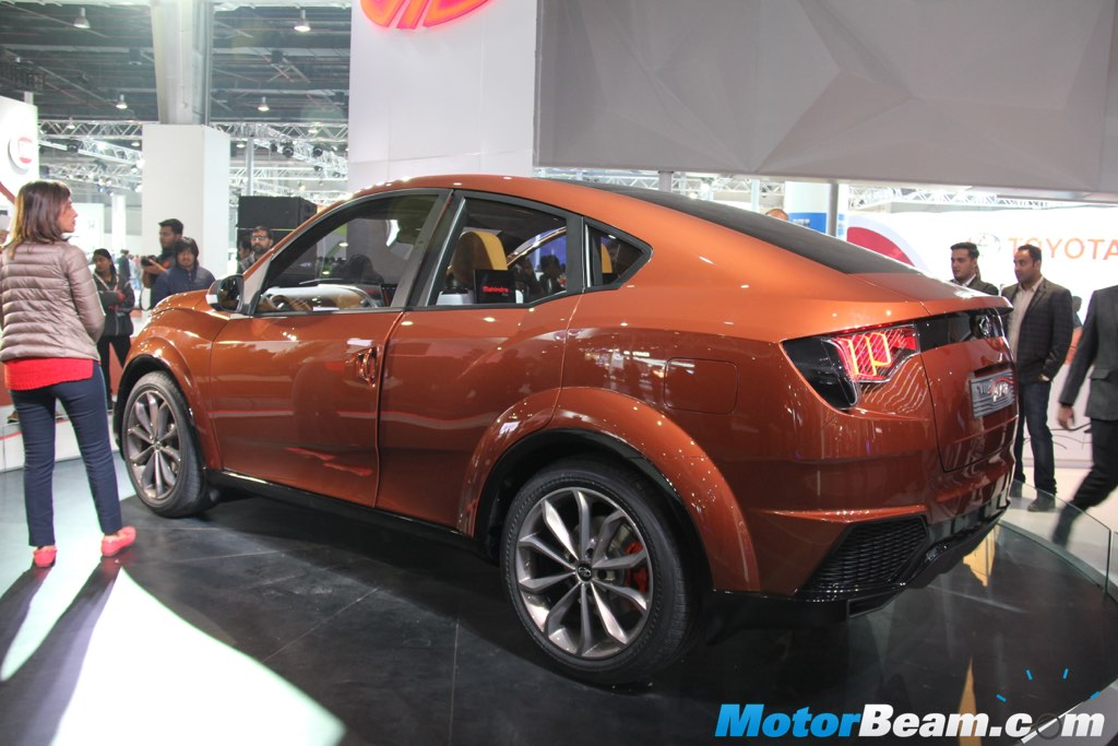 Mahindra Xuv Aero Concept Previews India S First Crossover