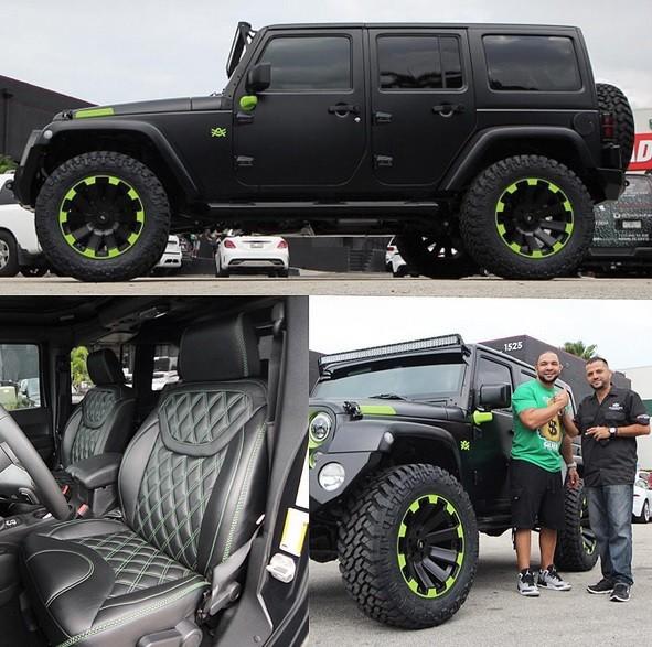 Jeep Renegade Models >> Major League Baseball Star Alex Gonzalez Goes Custom on His Jeep Wrangler – Video - autoevolution