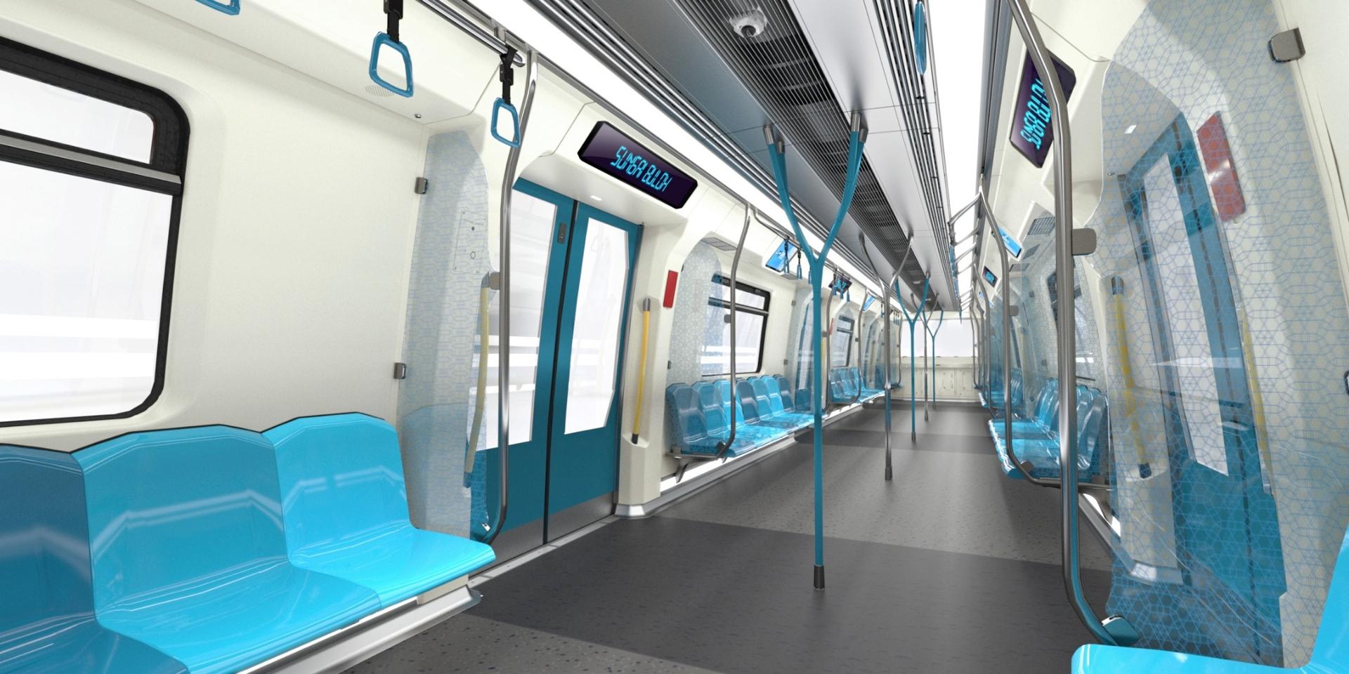 Car interior malaysia - Malaysia To Get Bmw Designed Metro Trains