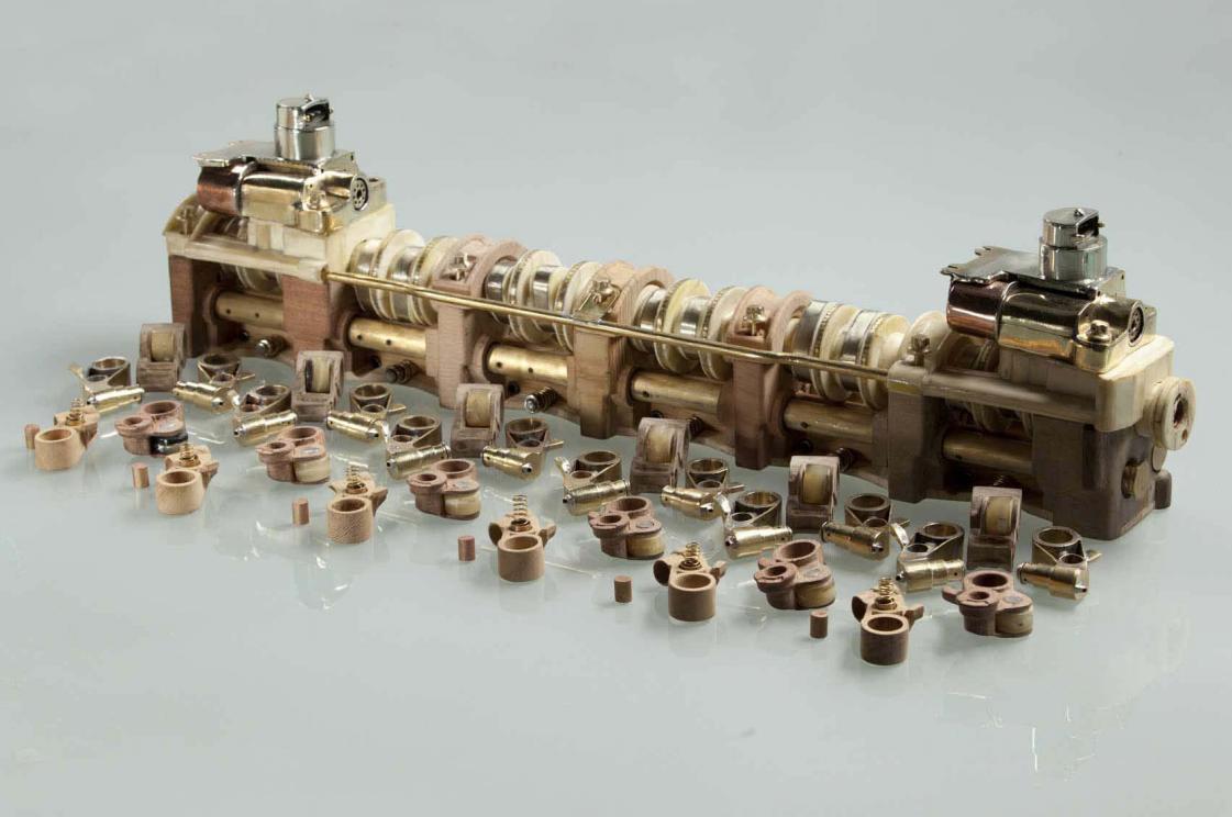 Man builds mercedes benz v12 engine from 53 different for Mercedes benz v12 engine