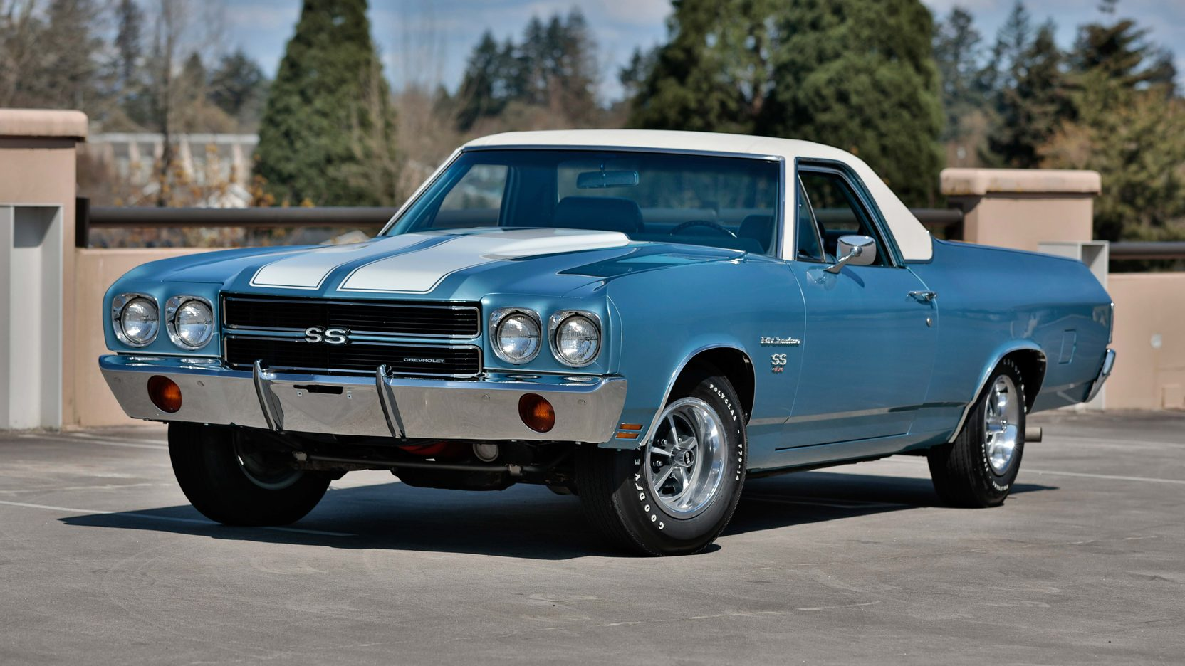 ex steve mcqueen chevrolet el camino heading to auction autoevolution. Black Bedroom Furniture Sets. Home Design Ideas