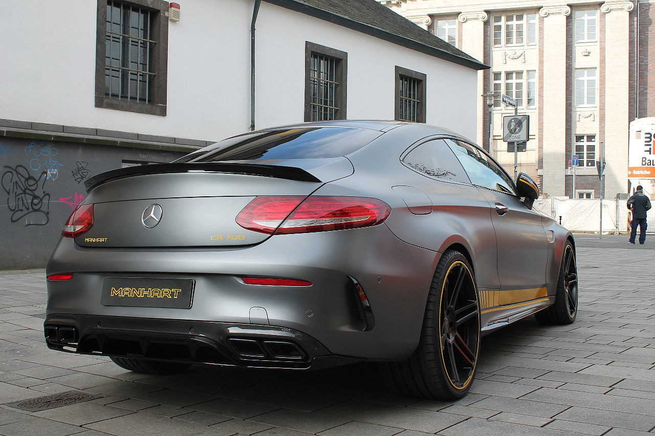 Manhart Amg C63 S Coupe Cr700 Is Brutally Loud Does 100