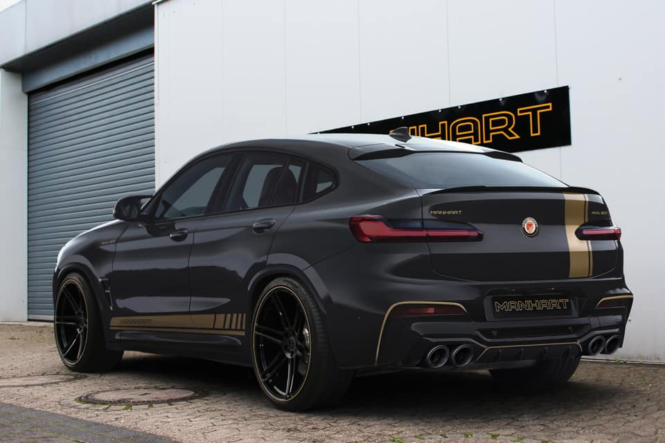 Manhart Racing Reveals Plans for 600 HP BMW X3 M and X4 M
