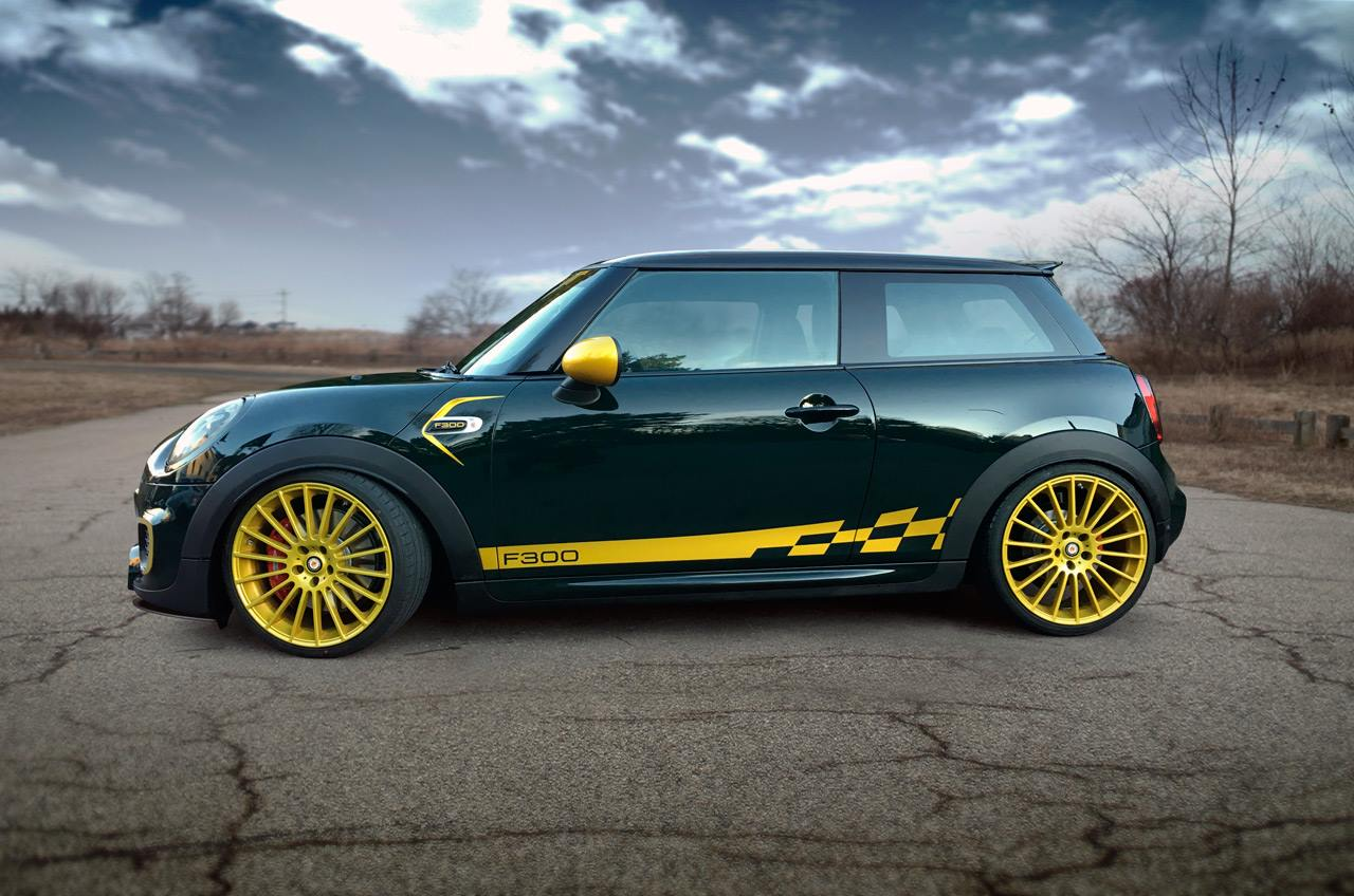 manhart tunes f56 mini jcw to 300 hp and 470 nm of torque. Black Bedroom Furniture Sets. Home Design Ideas