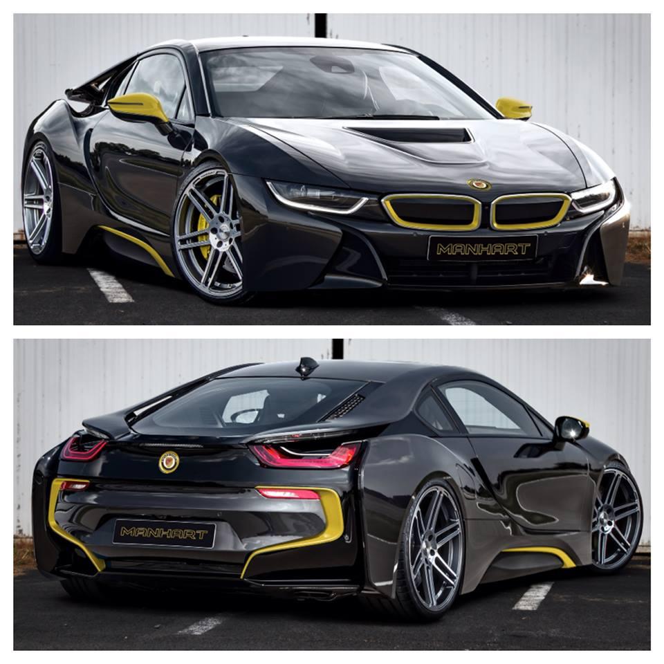 Bmw I8: Manhart's BMW I8 Gets A Sneak Preview