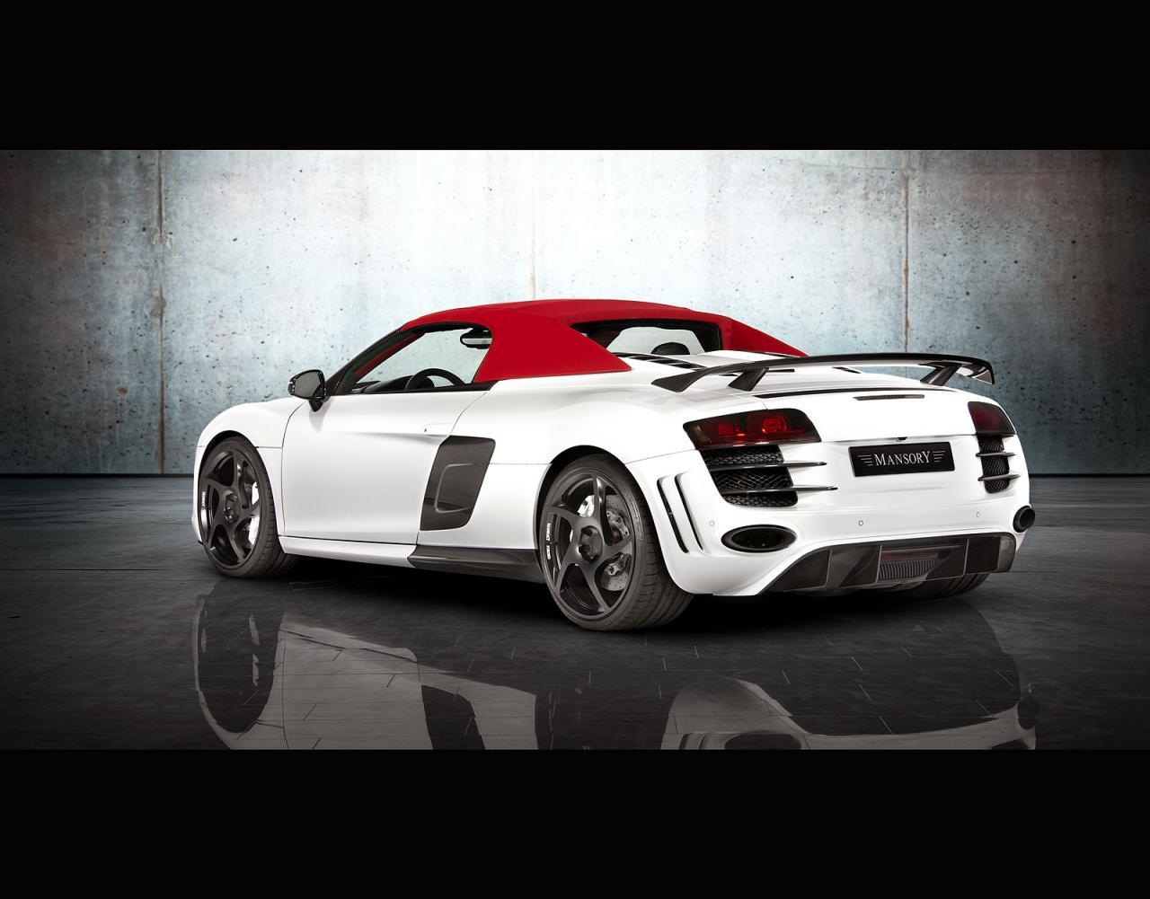 Audi audi r8 spyder v10 : Mansory Audi R8 V10 Spyder - autoevolution