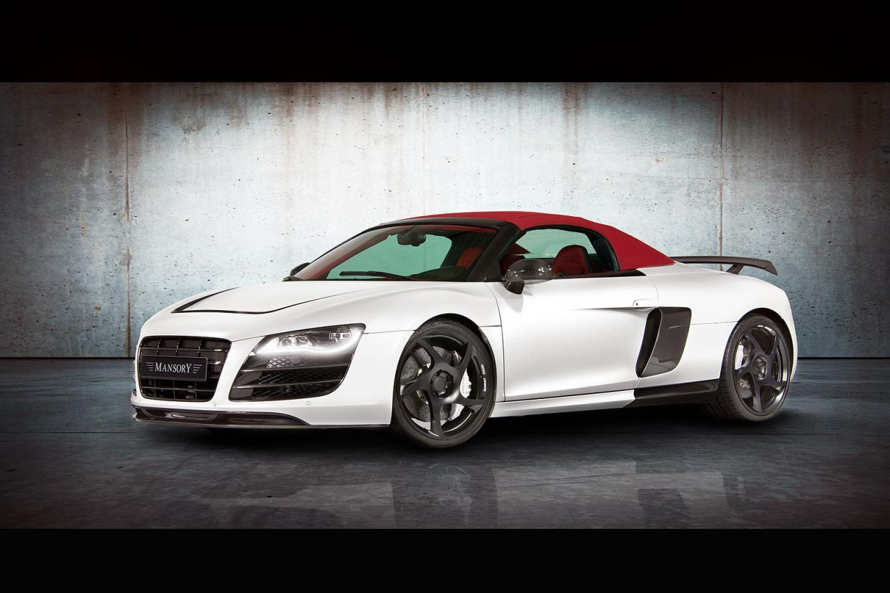 mansory audi r8 v10 spyder autoevolution. Black Bedroom Furniture Sets. Home Design Ideas