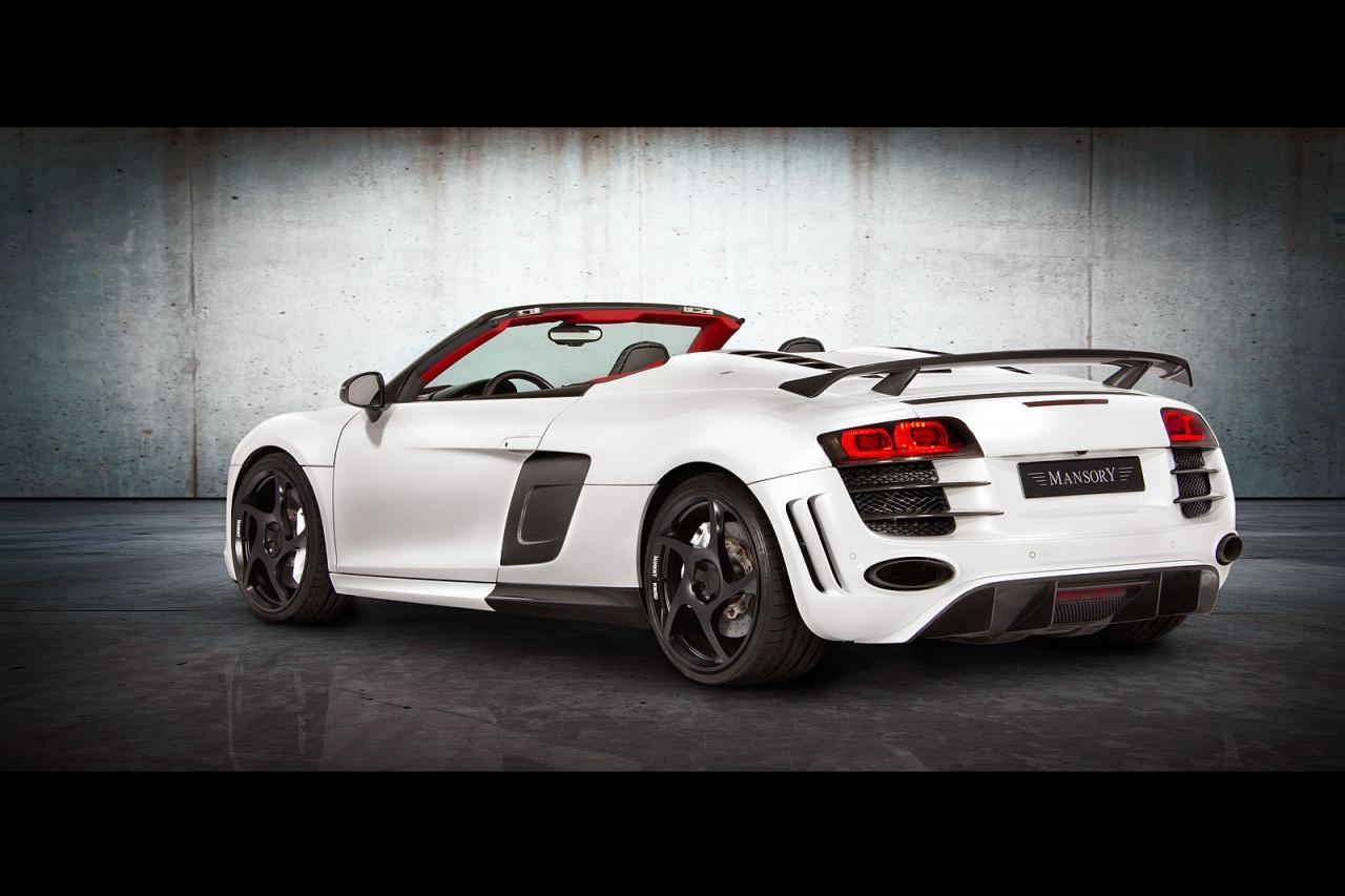 Audi A8 V12 >> Mansory Audi R8 V10 Spyder - autoevolution