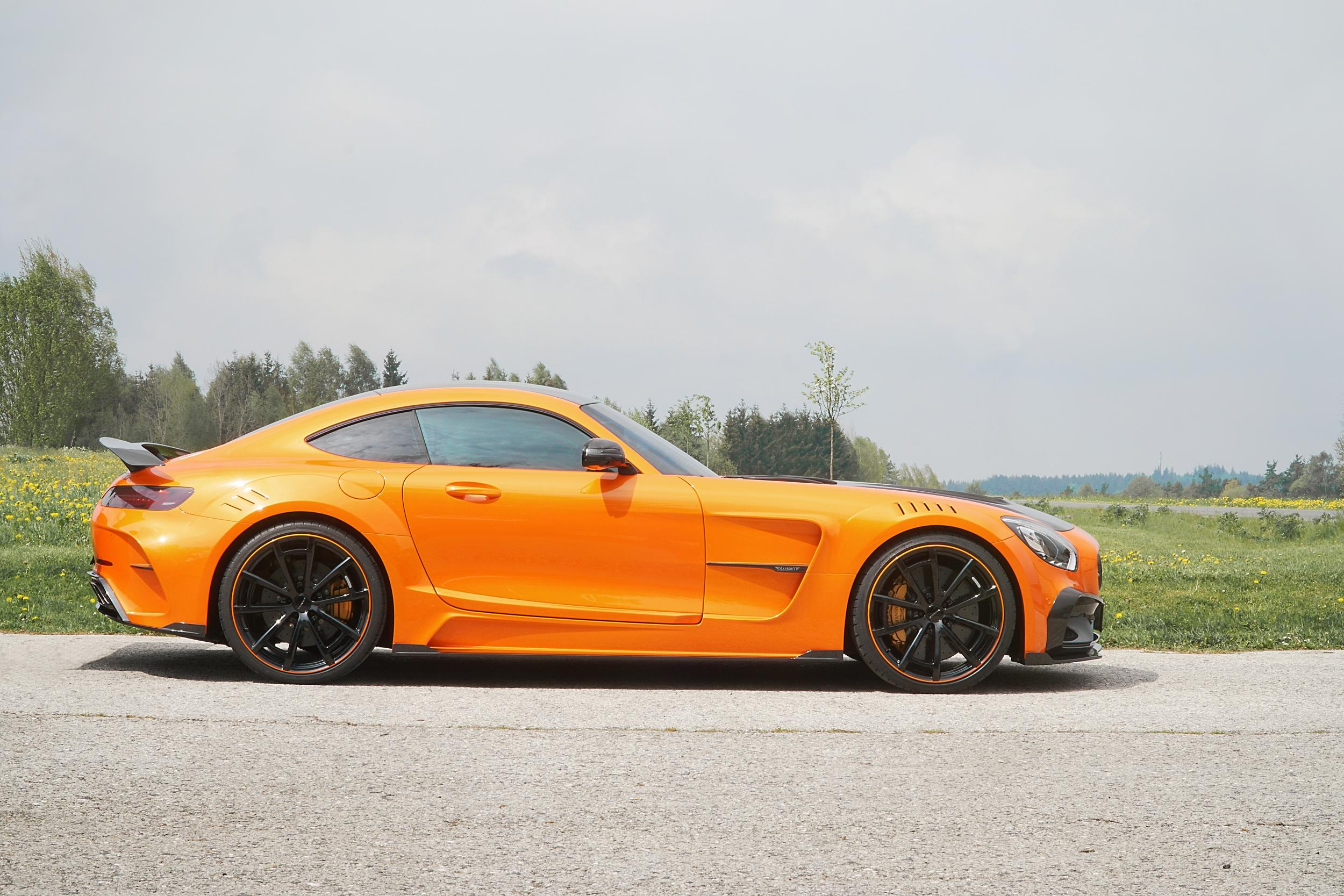 Mansory Mercedes-AMG GT Returns in Many Colors - autoevolution